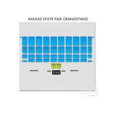Wi State Fair Grandstand Seating Chart Kansas State Fair Grandstand Tickets