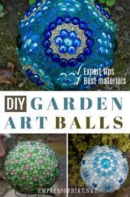 how to make decorative garden art expert tips
