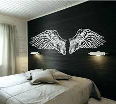 wings wall art wall ideas angel wing wall decor image of metal heart with wings wall art