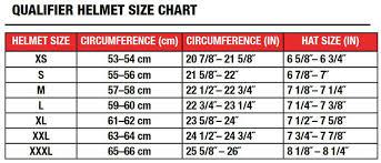 Bell Size Chart Bell Qualifier Pumper Dot Helmet