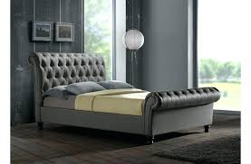 sleigh bed king size sleigh bed king size luxury upholstered oned grey sleigh bed available in sleigh bed king size
