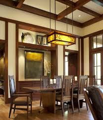 craftsman lighting dining room. craftsman style lighting in traditional dining room r