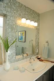 lighting bathroom mirror. Bathroom: Bathroom Lights Above Mirror With Marble Sink Lighting