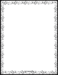 printable frame templates printable page borders