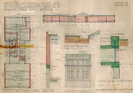 historical building plans for the addition of the fourth floor to the building at 144 adelaide street these were done by renowned architect karl langer