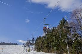 ski resort winter ferie ski lift lift chair snow