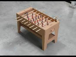 How To Make Wooden Games How to Make a Foosball Table Game Fun and Easy كرة قدم 12