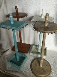 Earring Display Stand Diy nice cool Wooden Jewelry Stand Jewelry Tree Jewelry Display 38