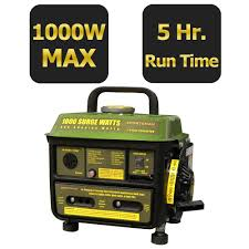 Sportsman 1 000 Watt 2 Stroke Gasoline Powered Portable Generator