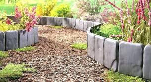 garden edging fence. Landscape Fence Edging Garden Installing Panel .