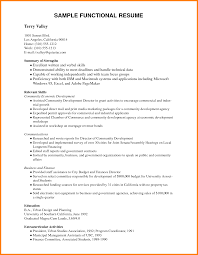 7 Functional Resume Template Pdf Professional Resume List