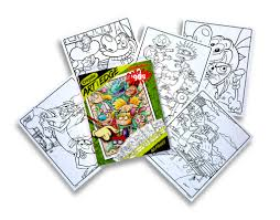 It's wonderful that, through the process of drawing and coloring, the learning about things around us does not only become joyful, but also triggers our mind to think creatively. Crayola Art With Edge Nickelodeon 90s Premium Coloring Pages Walmart Com Walmart Com