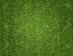 Green Artificial Turf Pattern texture For Background Stock Photo