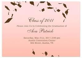 Free Graduation Invitation Templates For Word Graduation
