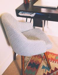 swivel seated office chair from west elm styled by justina blakeney