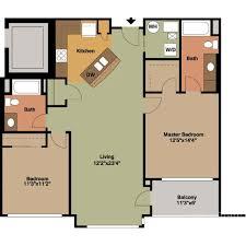 2 bedrooms floor plans jackson square
