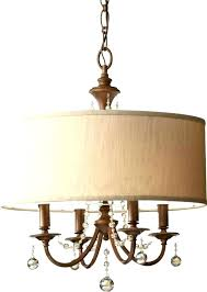 chandelier with fabric shades chandelier with fabric shades s bay 5 light oil rubbed bronze chandelier