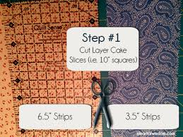 Double Sliced Layer Cake Quilt Tutorial - Heart at Home : Heart at ... & double_layer_cake_quil_step1 Adamdwight.com