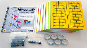 Free Printable Paper Roller Coaster Templates Paper Roller Coasters