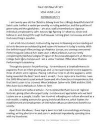 45 Biography Templates Examples Personal Professional College