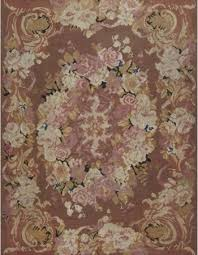 antique rug french aubusson bb6934