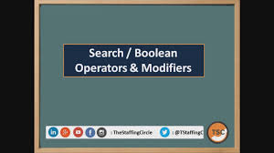 Boolean Search Modifiers Search String Youtube