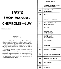 wiring diagram for chevy luv the wiring diagram 1972 chevy luv repair shop manual original wiring diagram