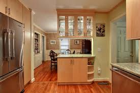 Kitchen cupboard lighting Underneath Kitchen Cabinet Contemporary Open Plan Kitchen With Light Wood Cabinets Gelane Undercabinet Lighting Choices Diy