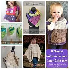 Caron Cakes Yarn Knitting Patterns