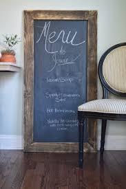 big chalkboard