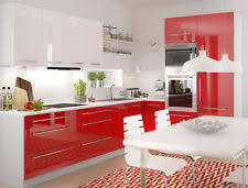 L Form Küchenzeile Küchenblock Grau /rosenrot   Weiß Hochglanz Ohne Geräte  16893