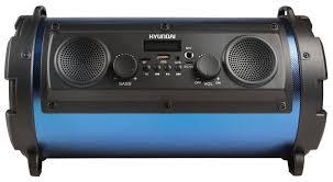 Музыкальная система <b>Hyundai H</b>-<b>MC</b> 200 Черный/Синий, купить ...