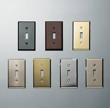 Light Plate Covers Metal Single Switch Plate Switch Plates Light Switch