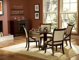 Dining  Mauve Wall Color With Stylish Dining Table Decoration For - Formal dining room designs