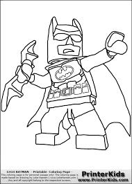 Creative Design Lego Batman Coloring Pages Free Printables Party