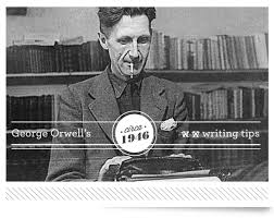 george orwell s writing tips urban influence