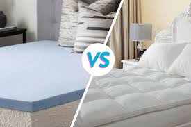 memory foam pillow top. Unique Foam Memory Foam Mattress Toppers Vs Pillow Top Pads Which Is Better Intended