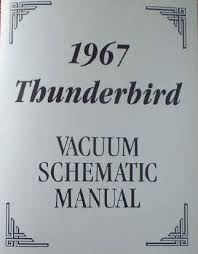 1958 to 1988 ford thunderbird automotive manuals vacuum diagram troubleshooting manuals 67tbvacuum jpg 458884 bytes