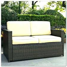 wicker indoor cushion outdoor loveseat polley with cushions patio furniture wic