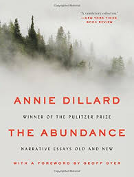 How Long To Read The Abundance Narrative Essays Old And New