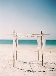 Beach Wedding Accessories Decorations Lovely Anna Maria Island Wedding by the Sea Once Wed Altar 84