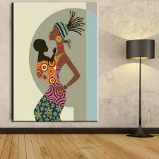 Paintings For Bedroom Decor Popular African Art Figures Buy Cheap African Art Figures Lots