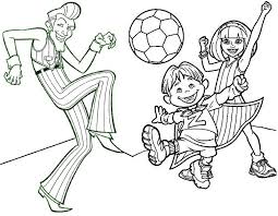 Sportacus Lazy Town Colouring Pages Master Coloring Pages