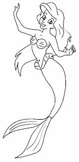 De Kleine Zeemeermin Kleurplaat Disney Kleurplaat Animaatjesnl
