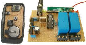 electronic circuits based on avr microcontrollers 2 channel rf remote control