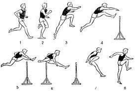 Тренировка по легкой атлетике Техника бега через барьер легкая атлетика