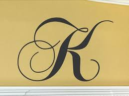 single letters wall art monogram for letter decal corn images diy