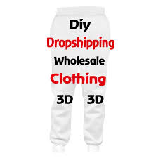 Design Own Pants Ogkb Customized Sweat Pants Mens 3d Print Your Own Design Custom