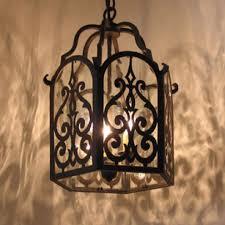 love this spanish style lighting