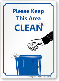 Please Help Keep This Restroom Clean Sign NHE8600 Restroom EtiquettePrintable Keep Bathroom Clean Signs